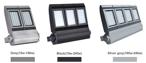 Different Colours of LED Flood lights